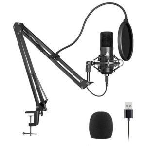 Best Condenser Microphone Set For Recording In India 2021